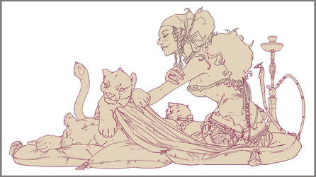 The Trader's Concubine sketch by Zephyri