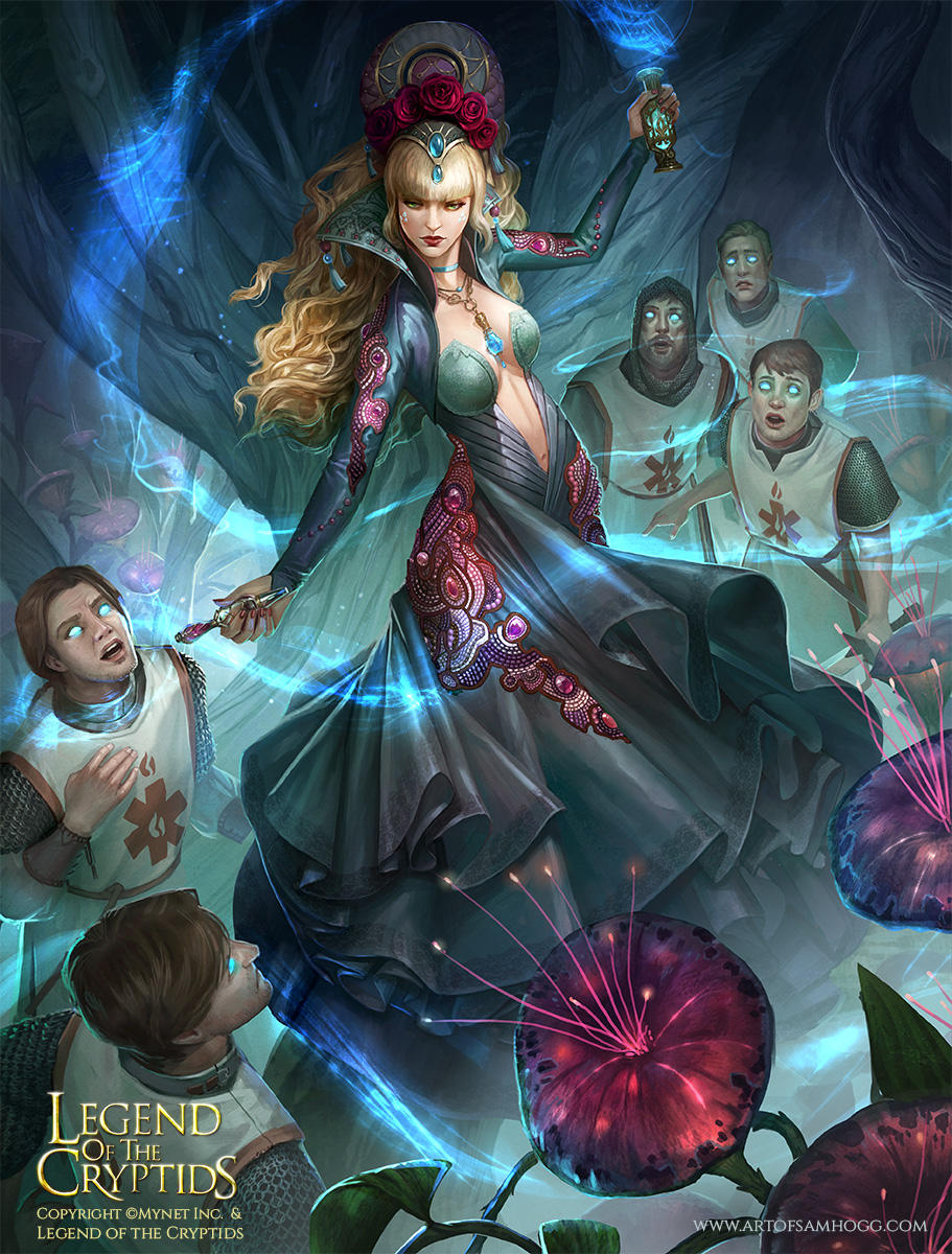 Legend of the Cryptids Nilufar Advanced by Zephyri