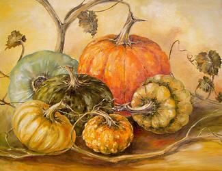 Pumpkins 2 by radina