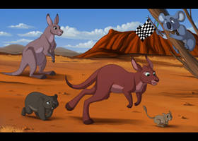 Outback Race Collab by Miss-Melis