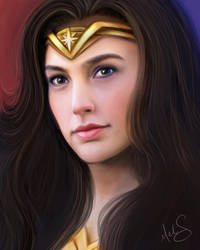 Wonder Woman by Miss-Melis