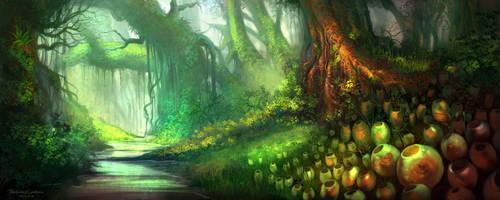 Le Jardin Enchanteur by FerdinandLadera