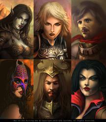 WBS-character-portraits by FerdinandLadera