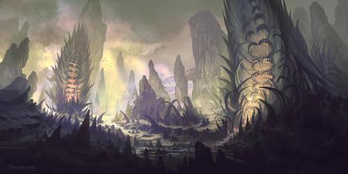 Mt. Ightmor by FerdinandLadera