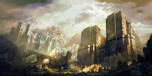 Abandoned Castle by FerdinandLadera