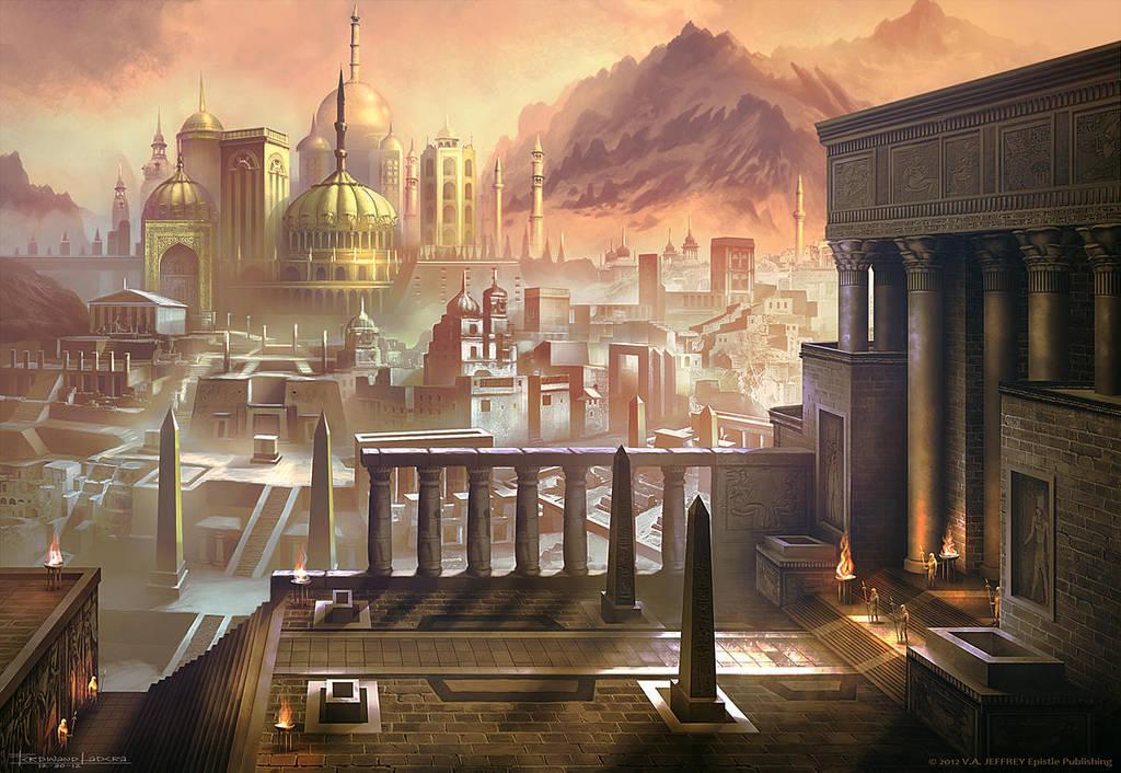 Les ruines de Thahari