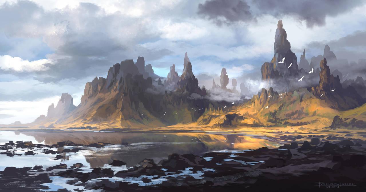 Mt. Alebur by FerdinandLadera
