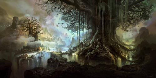 Tree of life by FerdinandLadera