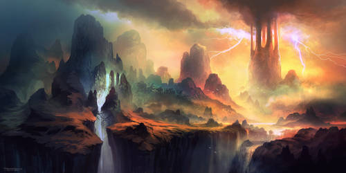 The Great Turrim by FerdinandLadera