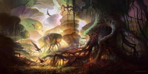 The Forest of Keilah by FerdinandLadera