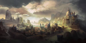 The city of Swynston by FerdinandLadera