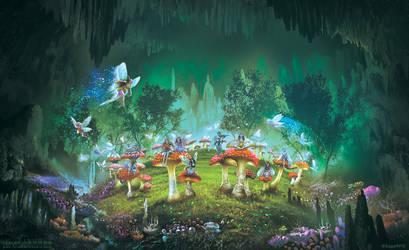 Dimlight Forest: Sorcerer's ring by FerdinandLadera
