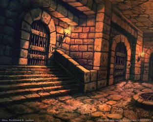 Prison Cell by FerdinandLadera