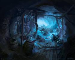 Tunnels of Mount Gram by FerdinandLadera
