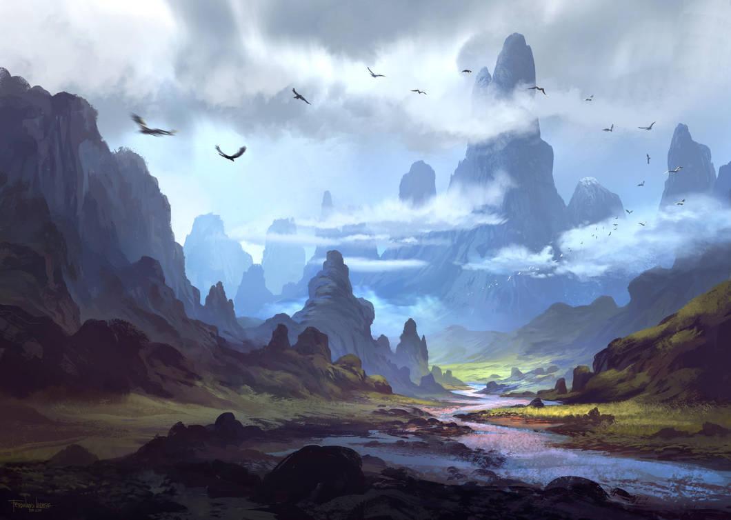Mountainscape by FerdinandLadera