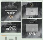 Foggy Wolf Forest - Page Customization [P2U] by Ulfeid3