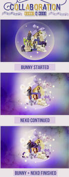 140702 - Collaboration with Bunny by NekoNguyen