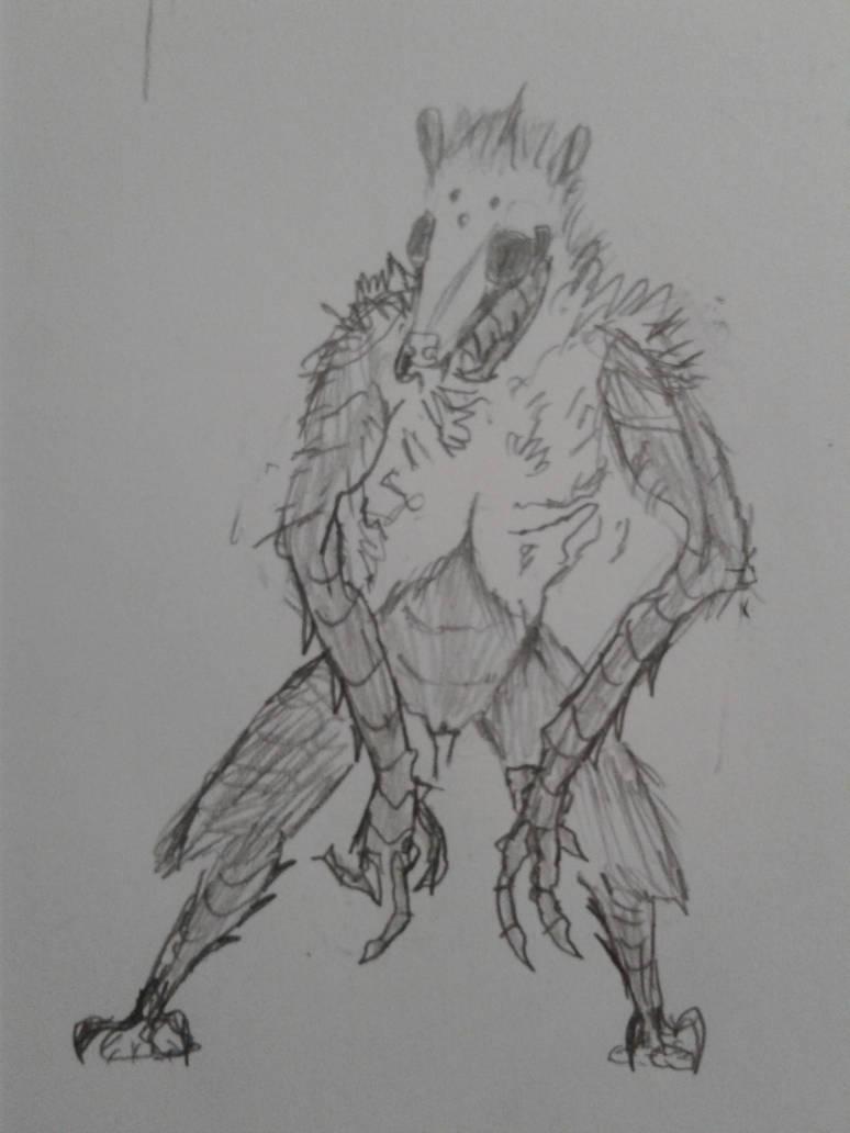 Apothym Sketch by Possmonaut