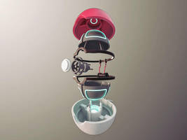 Inside a pokeball by gendosplace