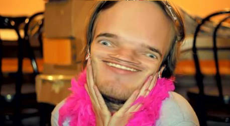 what the hell have I done to pewdiepie??? by Anjerin