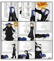 Comm: comic for leona-vendrem by Luximus