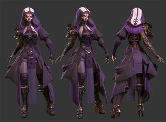 Necromancer - Game Character Posed by brohmyr