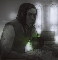 Severus Snape by ShivaWalker