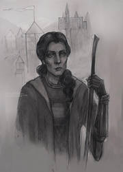Minerva McGonagall by ShivaWalker