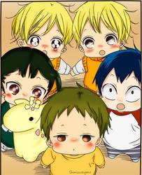 Gakuen babysitters by ShimizuShigeno