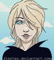Pixel girl by Fiestaa