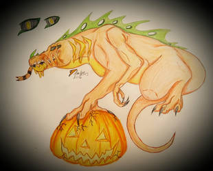 Halloween Trade by dmlp103