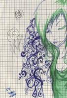 Girl with Tattoo by Riyavi