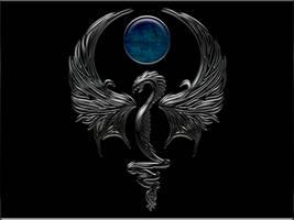Ebony Dragon by Sylverwyng