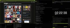 Arch Linux - i3 by graveyardpc