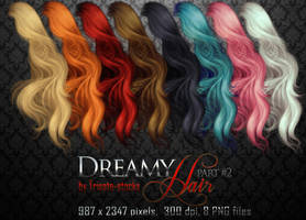 Dreamy HAIR part #2 by Trisste-stocks