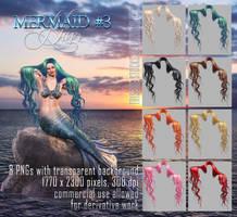 Mermaid Hair #3 HAIR STOCK by Trisste-stocks