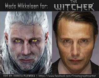 Mads For The Witcher by Trisste-stocks