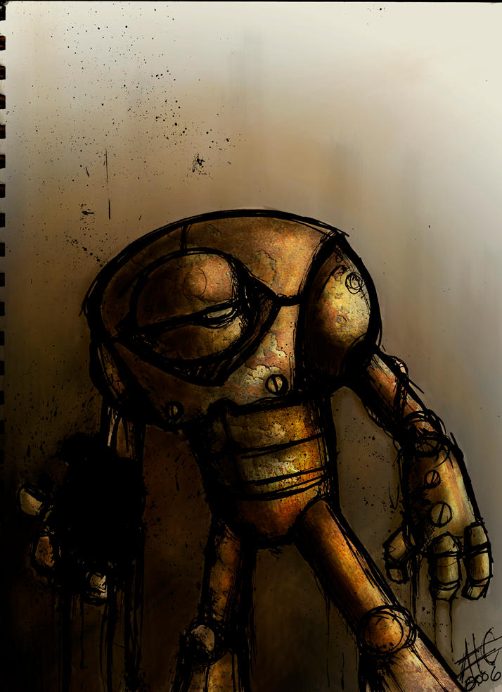 robo rock colored by insomniamonkey