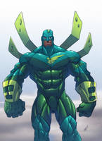 TANGENT  darkk hero 01 by hoppopngo