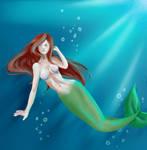 Ariel by Courtney-S-Art