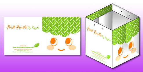 First Fruits Paper Bag by littleworkshop