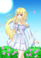 She... Reminds me of Fairies by Azuremia