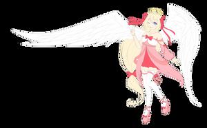 WIP angel by Azuremia