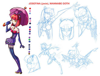 Josefina wannabe goth by Davalos1