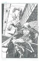 Daredevil Azrael by Ace-Continuado