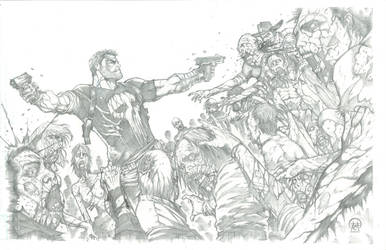 Frank Castle: Walking Dead 2 by Ace-Continuado