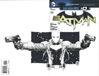 The Red Hood Wondercon 2013 commission by Ace-Continuado