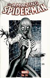 She Venom commission by Ace-Continuado