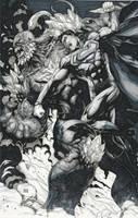 Superman vs Doomsday Copics by Ace-Continuado