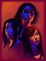 Faces by DanHowardArt